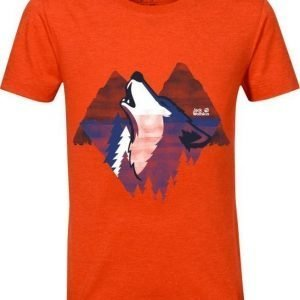 Jack Wolfskin Howling Wolf T B Coral 176