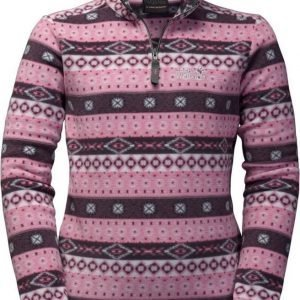 Jack Wolfskin Ice Crystal Pullover Kids Rose 128