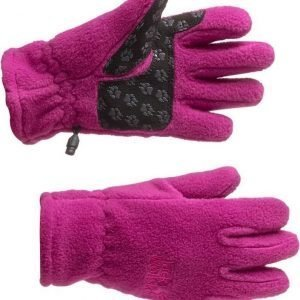 Jack Wolfskin Kids Fleece Glove Magenta 140