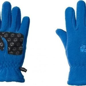Jack Wolfskin Kids Fleece Glove Sininen 116