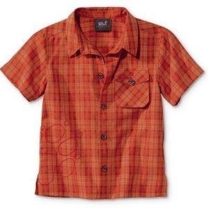 Jack Wolfskin Kids Mosquito Sun Shirt Oranssi 140