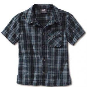 Jack Wolfskin Kids Mosquito Sun Shirt Sininen 116