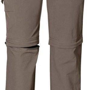 Jack Wolfskin Kids Safari Zip Off Pants harmaa 128