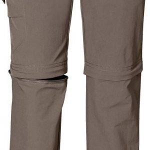 Jack Wolfskin Kids Safari Zip Off Pants harmaa 140