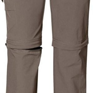Jack Wolfskin Kids Safari Zip Off Pants harmaa 152