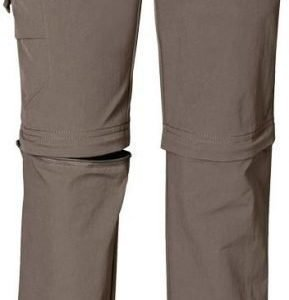Jack Wolfskin Kids Safari Zip Off Pants harmaa 164