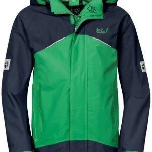 Jack Wolfskin Kids Twister 3 Jacket Sininen/vihreä 164
