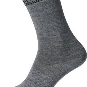 Jack Wolfskin Merino Classic Cut Socks Harmaa 38-40