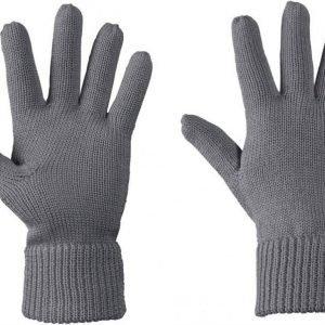 Jack Wolfskin Milton Glove Harmaa L