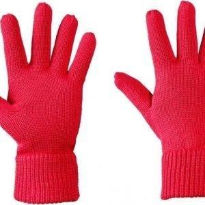 Jack Wolfskin Milton Glove Punainen M