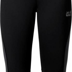 Jack Wolfskin Passion Trail 3/4 Tights Men Musta 56