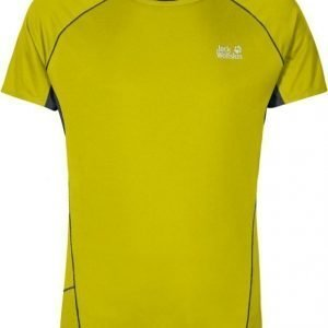 Jack Wolfskin Passion Trail Chill Tee M Lime S