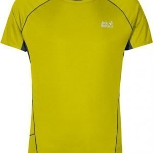Jack Wolfskin Passion Trail Chill Tee M Lime XXL