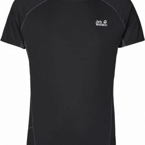Jack Wolfskin Passion Trail Chill Tee M Musta S
