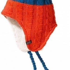 Jack Wolfskin Polar Bear Knit Hat Kids Sininen S