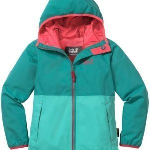 Jack Wolfskin Rainy Days Texapore Jacket Girls Mint 140