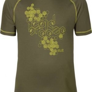 Jack Wolfskin Rock Chill T-Shirt M Oliivi S