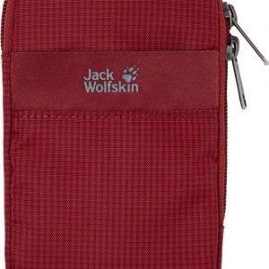 """Jack Wolfskin Smart Protect 5"""" Pouch Tummanpunainen"""