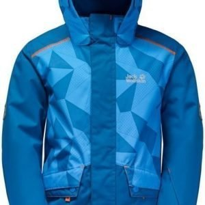 Jack Wolfskin Snow Ride Jacket Kids Sininen 176