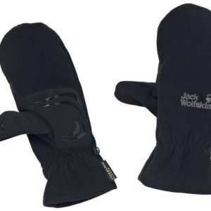Jack Wolfskin Stormlock Thinsulate Mitten Musta XL