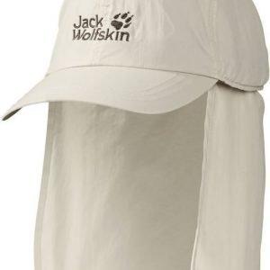 Jack Wolfskin Supplex Protector Cap Luonnonvalkoinen M