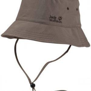 Jack Wolfskin Supplex Sun Hat Harmaa L