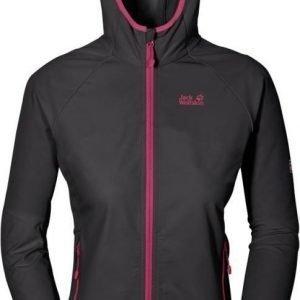 Jack Wolfskin Turbulence Jacket Women Dark Grey XL