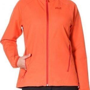 Jack Wolfskin Turbulence Jacket Women Oranssi XL