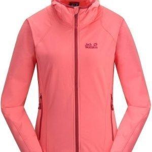 Jack Wolfskin Turbulence Jacket Women Pinkki XL
