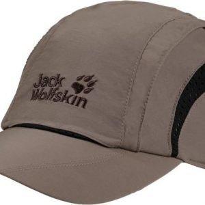 Jack Wolfskin Vent Pro Cap Harmaa M