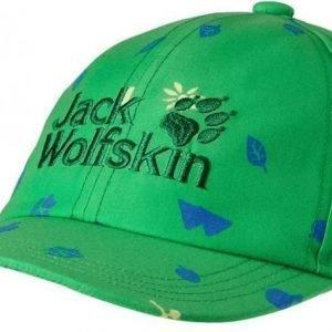 Jack Wolfskin Wilderness Cap Vihreä S