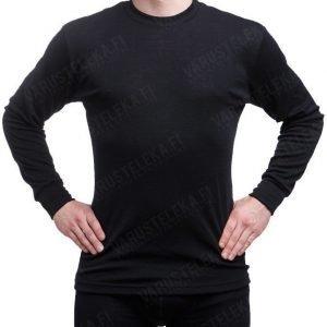 Janus Black Wool pitkähihainen paita