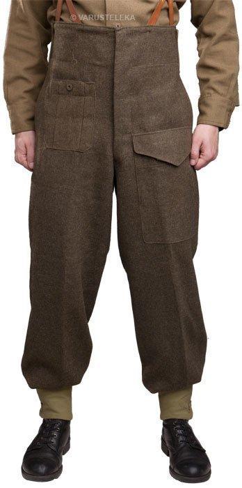 Kanadalaiset Pattern 49 Battledress housut ylijäämä