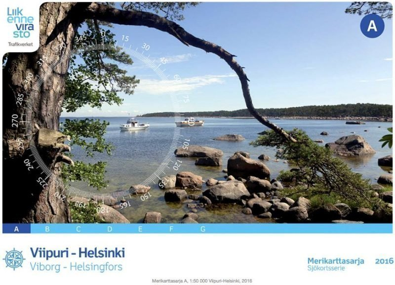 Karttakeskus A Viipuri-Helsinki
