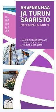 Karttakeskus Ahvenanmaa ja Turun saaristo - matkaopas ja kartta