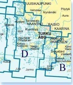 Karttakeskus D Turunmaan saaristo 2010