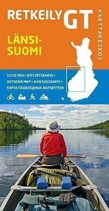 Karttakeskus Retkeily-GT-kartta Länsi-Suomi