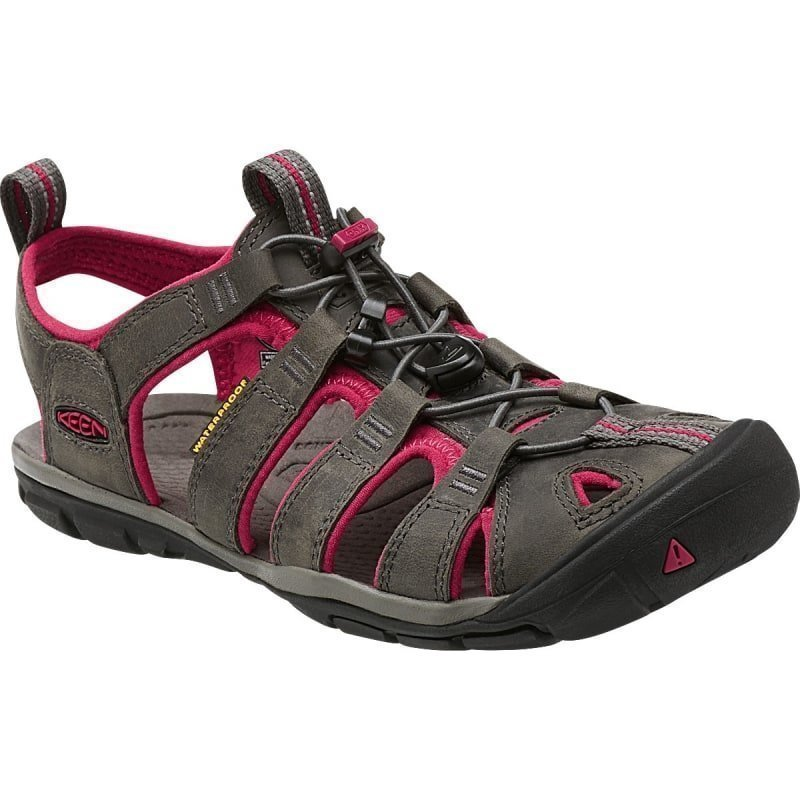Keen Clearwater Cnx Leather US 7 MAGNET/SANGRIA