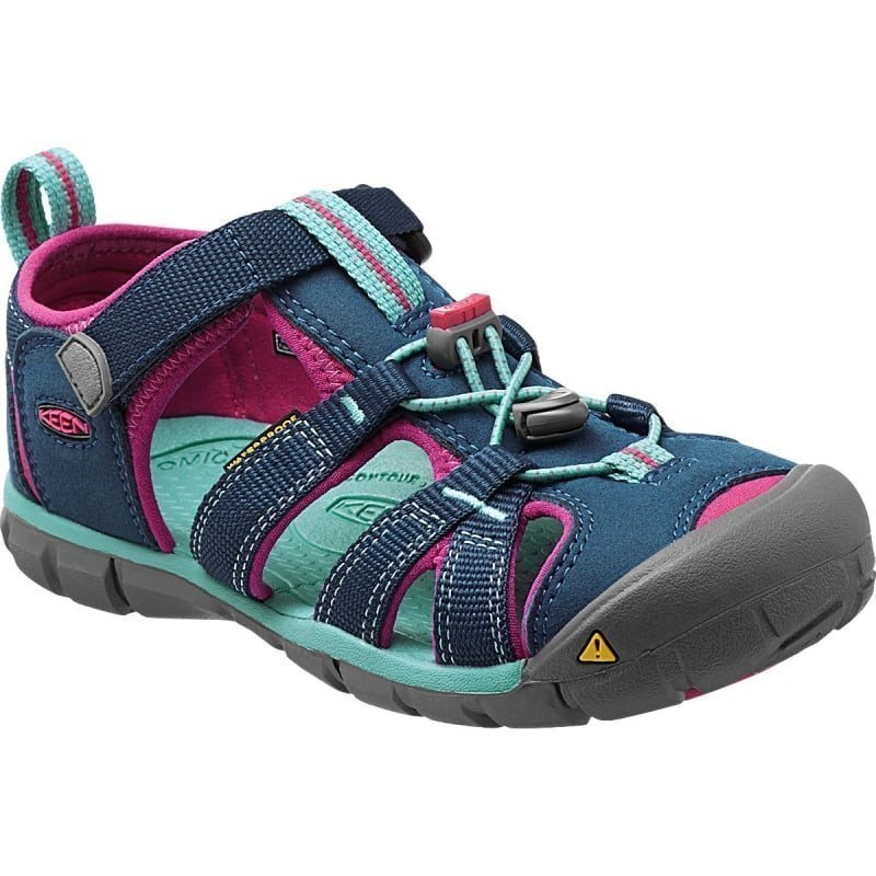 Keen Kid's Seacamp II CNX US 8/EU 24 Poseidon/Very Berry