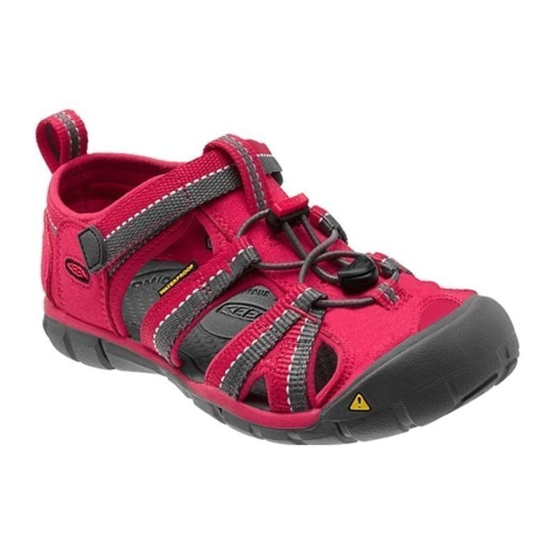 Keen Kid's Seacamp II CNX US 8/EU 24 Rose Red/Gargoyle