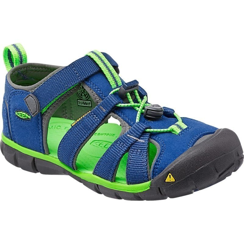 Keen Kid's Seacamp II CNX US 9/EU 25 True Blue/Jasmine Green