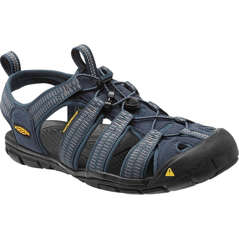 Keen Men's Clearwater CNX US12 / EU46 Midnight Navy/G