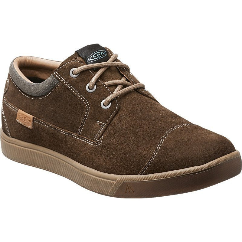 Keen Men's Glenhaven Suede US 12/EU 46 Cascade Brown