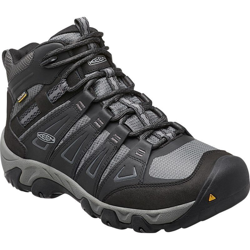 Keen Men's Oakridge Mid WP US 10/EU 43 Magnet/Gargoyle