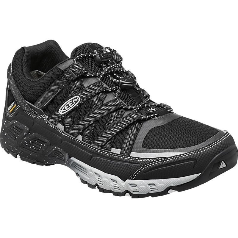 Keen Men's Versatrail WP US 12/EU 46 Raven/White