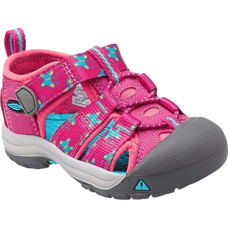 Keen Newport H2 Infant US 6 VERY BERRY BFLY