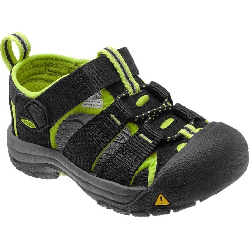 Keen Newport H2 Infant US4 / EU19 BLACK/LIME GREE