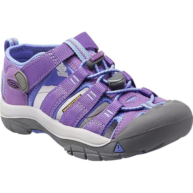 Keen Newport H2 Kids US 8 PURPLE HEART/PER