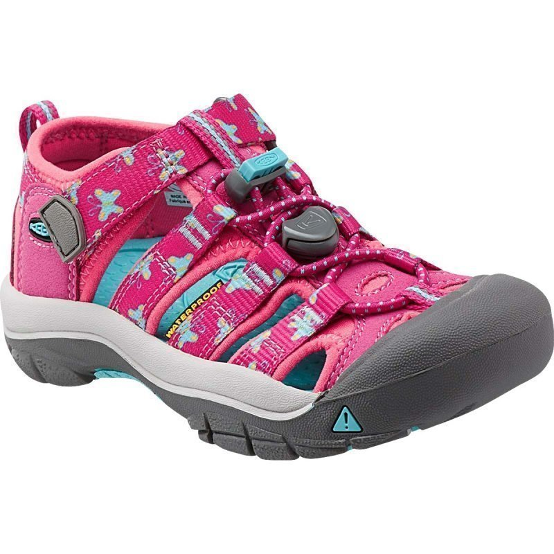 Keen Newport H2 Kids US 8 VERY BERRY BFLY