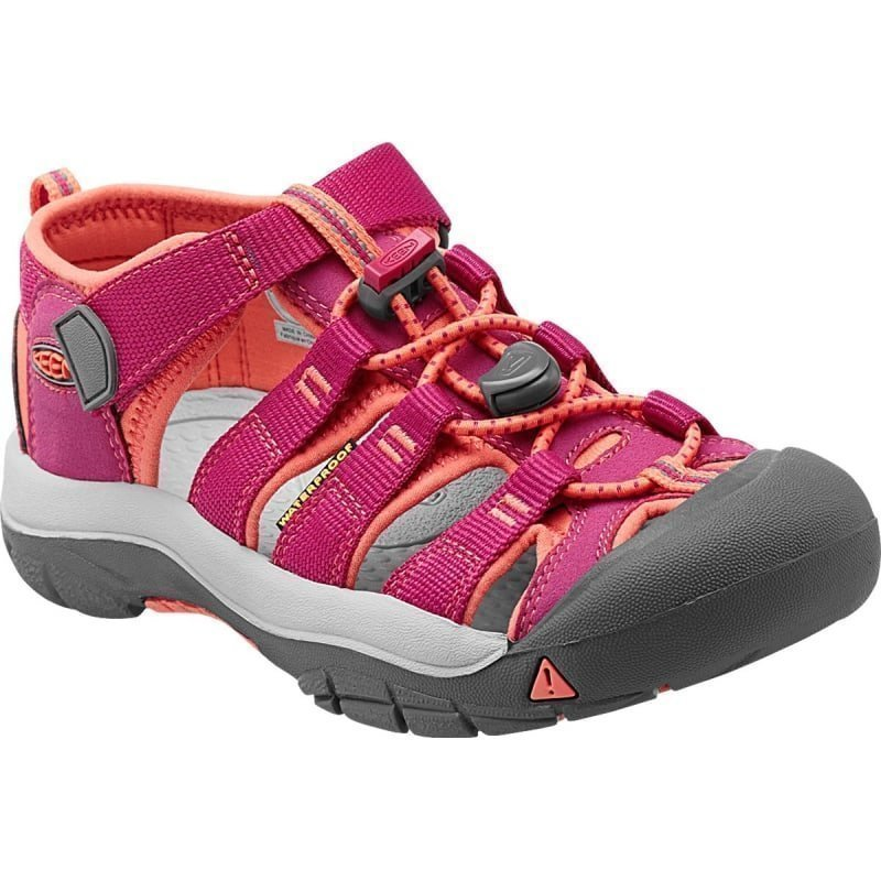 Keen Newport H2 Youth US 1/EU 32 Very Berry/Fusion Coral